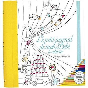 Le petit journal de mon bébé à colorier