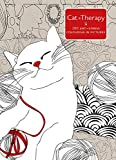 Cat Therapy: 100 Anti-Stress Colouring- in Pictures