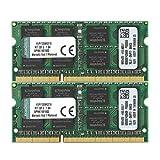 Kingston KVR13S9K2/16 Arbeitsspeicher 16GB (DDR3 Non-ECC CL9 SODIMM Kit, 204-pin 1,5V)