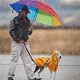 Hunde Regenmantel Wasserdicht Regensjacke Hund Regenmantel Für Hunde Hunderegenmantel Dog Raincoat Reflektierende Streifen M-5XL