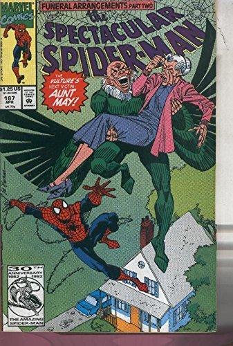 The Spectacular Spider Man volumen 1 numero 187 (1992)