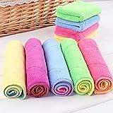 Mikrofaser Reinigungstücher 18x30 cm Spültücher Handtücher Waschlappen Dishcloths (6 Stück)