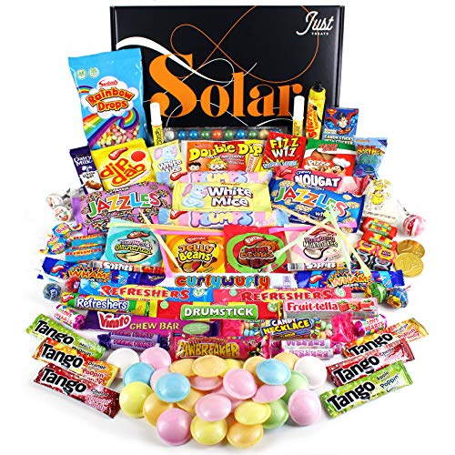 A-Z Sweetshop Retro Sweets Hamper: Just Treats Solar Gift Hamper