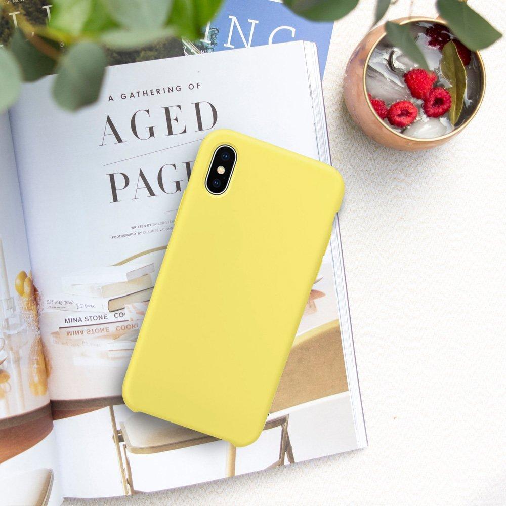 22ad4abb679 Funda iPhone XS MAX Carcasa Silicona Suave Colores del Caramelo con Superfino  Pelusa Forro,Anti-rasguños Protección Teléfono Caso ...