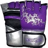besmart MMA UFC Grappling-Handschuhe Damen Boxsack Kick Muay Thai Damen, lila, rosa, pink, kostenlose Lieferung Violett violett S
