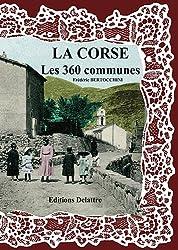 La Corse les 360 communes