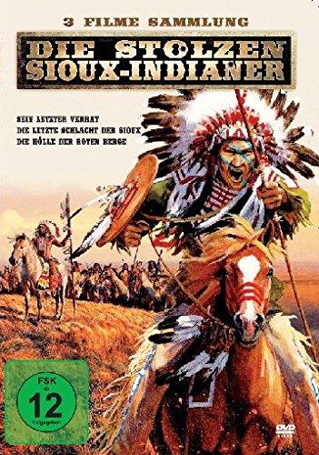 Die stolzen Sioux-Indianer  (3 Filme in einer Box) -