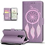 ikasus Coque Huawei Honor 6X Etui,Pétillant Bling Brillant Briller Dreamcather Plume...