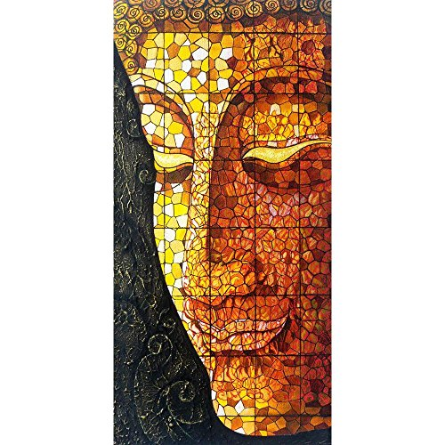 ArtzFolio Buddha Art - Large Size 12.0 inch x 24.4 inch - FRAMED PREMIUM CANVAS Wall Artwork Digital PRINT like HAND PAINTINGS : BEAUTIFUL INTERIOR Home Décor Photo Gifts & Decorative Paintings for Bedroom, Living, Drawing, Dining Room, Office, Interior D