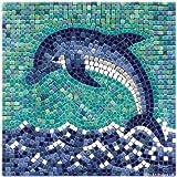 Mosaico Kit, 20x20 cm, Delfino