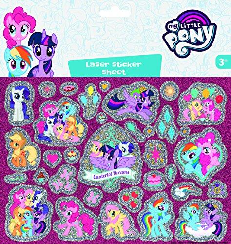 Pony Laser Stickerbogen ()