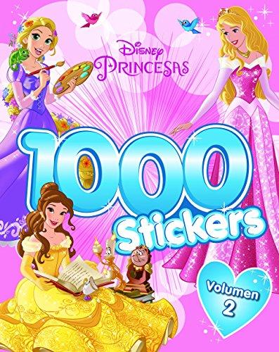 Princesas. 1.000 Stickers. Volumen 2 (Disney. Princesas) por Disney