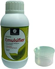 OrganicDews Emulsifier Wetting Agent Surfactant Spreader 250 ml for Plants with Measuring Cup 25 ml