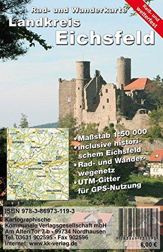 Landkreis Eichsfeld: Rad- und Wanderkarte (wetterfest)