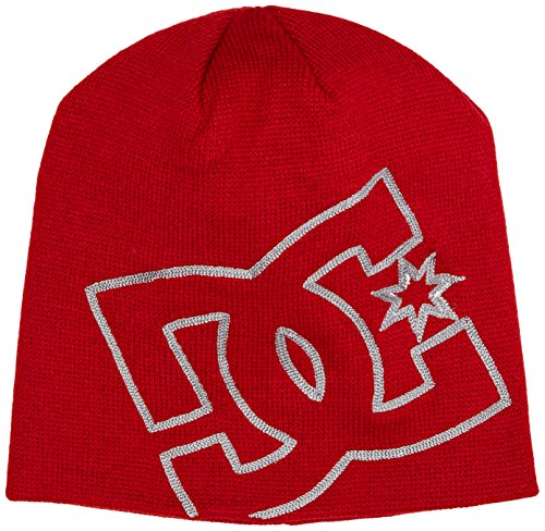 DC Clothing Spinster M Hats Rrh0 Bonnet, Rouge (Tango Red), Fabricant: Taille Unique Homme