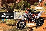 Kinder Mini Crossbike Gazelle 49 cc 2-takt inklusive Tuning Kupplung