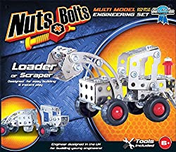 Asia Pacific Toys Nuts & Bolts: Loader Or Scraper Multi Model Engineering Set