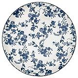 GreenGate STWDINWVAN2506 Vanessa Speiseteller Blau 27 cm (1 Stück)