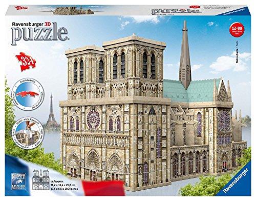 Ravensburger Notre Dame - Puzzle 3D Building Maxi