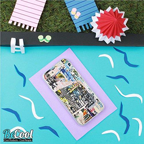 BeCool®- Coque Etui Housse en GEL Flex Silicone TPU Iphone 8, Carcasse TPU fabriquée avec la meilleure Silicone, protège et s'adapte a la perfection a ton Smartphone et avec notre design exclusif. Cou L1052