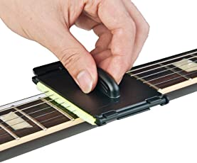 DALUCI Electric Guitar Bass Strings Scrubber Rub Cleaning Maintenance Care Cleaner Tool