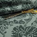 weiche Qualität Samt Damast Muster bedruckt Vorhang