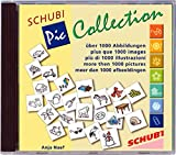 SCHUBI PicCollection 1: 1000 Orginal-Cliparts für PC und MAC