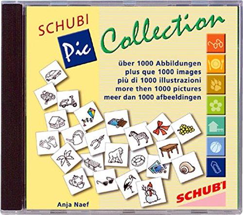 SCHUBI PicCollection 1: 1000 Orginal-Cliparts für PC und MAC