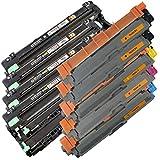 5x TONER IBC + 4x TROMMEL IBC für BROTHER MFC-9330 CDW / MFC-9332 CDW / MFC-9340 CDW / MFC-9342 CDW 1