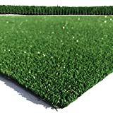 Blackburn 6mm Budget Artificial Grass EU Manufactured 2m or 4m Widths | Choose Length | Cheap High Density Fake Turf | Natural & Realistic Looking Astro Garden Lawn (Sample)