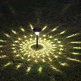 GRFH Solar-Rasen Lampe Landschaft Garten dekorative Lichter LED-Außenbeleuchtung Garten Villa Lampe