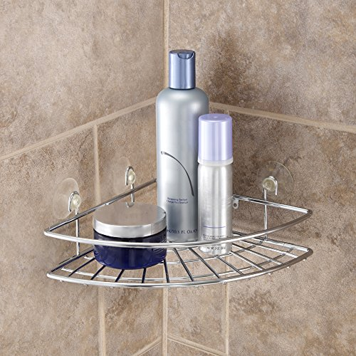 Kenney Corner Basket Dusche Caddy, Chrom - Chrome Bath Caddy