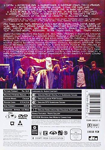 Red Rocks Live  DVD   2001