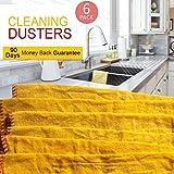 Brandneue hochwertige Jumbo Swish Staubtücher, Gelb-Reinigungstücher, Baumwolle, groß, reine Haushalt Spring Clean Staubwischen