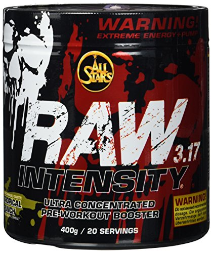 All Stars Raw Intensity 3.17, Tropical Punch, 1er Pack (1 x 400 g) -