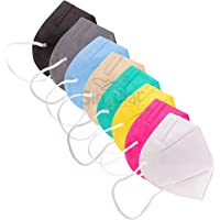 SINGULAR N95 Face Mask Reusable and Washable Pack of 10 pcs Multicolor Combo Pack of Mixed Colors