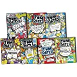 Liz Pichon Tom Gates 7 Books Collection Set Extra Special Treats Excellent Excuses, Genius Ideas, Best Book Day ever, Tom Gates is: Absolutely Fantastic, Everything Amazing