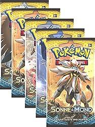 Pokemon Sonne & Mond Serie 1 - Insgesamt über 100 neue Karten in diesem Pokémon-Zyklus - 10 zufällig sortierte Karten in jedem Booster Pack - 36 Booster im Display - 1 Karte aus dem holografischen Parallelset in jedem Booster-Pack
