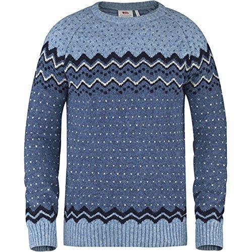Fjällräven Herren Övik Knit Sweater Pullover Blueberry