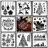 KOBWA Plantillas de Dibujo de Navidad,...