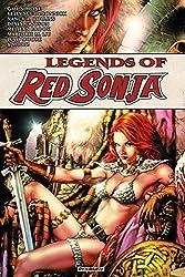 Legends of Red Sonja (Legends of Red Sonja Tp) by Gail Simone (2014-08-26)