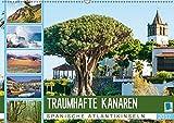Traumhafte Kanaren: Spanische Atlantikinseln (Wandkalender 2017 DIN A2 quer): Vulkane, Sonne, Meer: Die kanarischen Inseln (Monatskalender, 14 Seiten) (CALVENDO Orte)