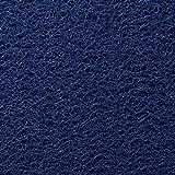 GOPG Original Durable Felpudos, Barro Super Absorbente Resbalón de PVC Fácil de Limpiar para Entradas, Puertas Delanteras, Patios, Pasillos y Garajes -60x90Cm(24x35Pulgada)-Azul