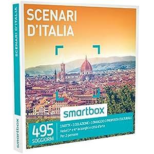 SMARTBOX - Cofanetto Regalo -SCENARI D'ITALIA 1 notte con colazione o 1 omaggio o 1 proposta culturale per 2 persone
