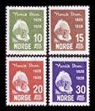 """Goldhahn Norwegen Nr.137-140 postfrisch ** """"Henrik Ibsen"""" Briefmarken für Sammler"""