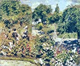 Il Museo outlet – Il Giardino, Fontenay, 1874 – Poster (61 x 81,3 cm)