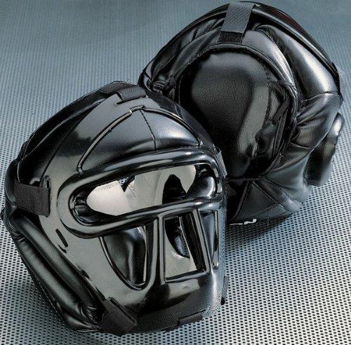 KWON Kopfschützer Black Line mit Top Pad XL