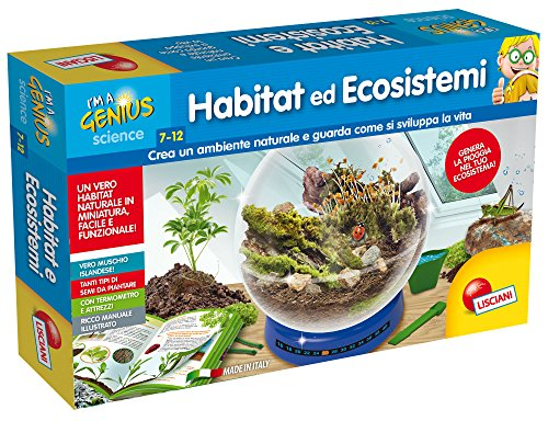 Lisciani Giochi 56330-Piccolo Genio: hábitat...