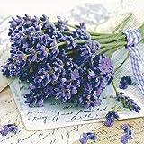 20 Servietten Lavender Greetings – Lavendel grüßt 33x33cm
