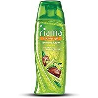 Fiama Lemongrass And Jojoba Gentle Exfoliation Shower Gel, 250ml